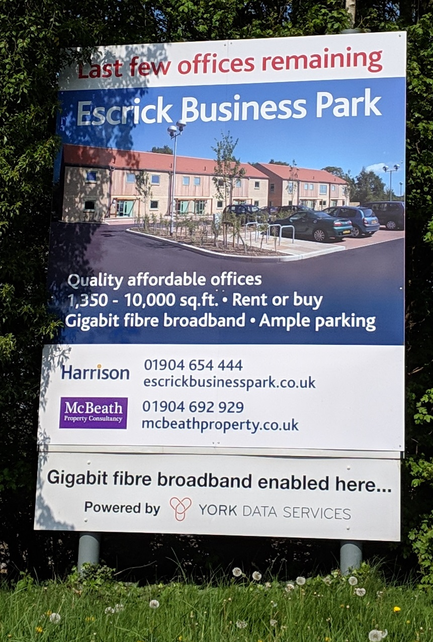 Escrick Business Park quality office space in York